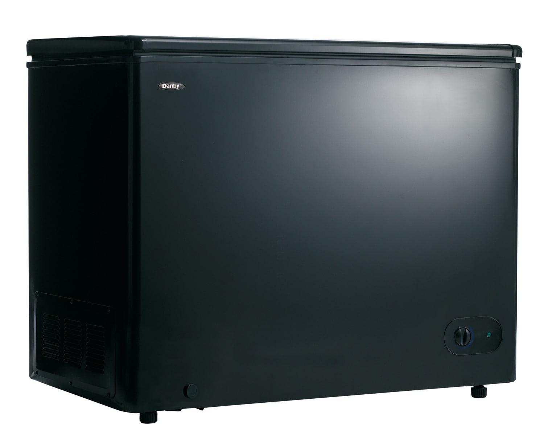 Refrigerators and Freezers - Danby Black Chest Freezer (7.2 Cu. Ft.) - DCF072A2BDB1