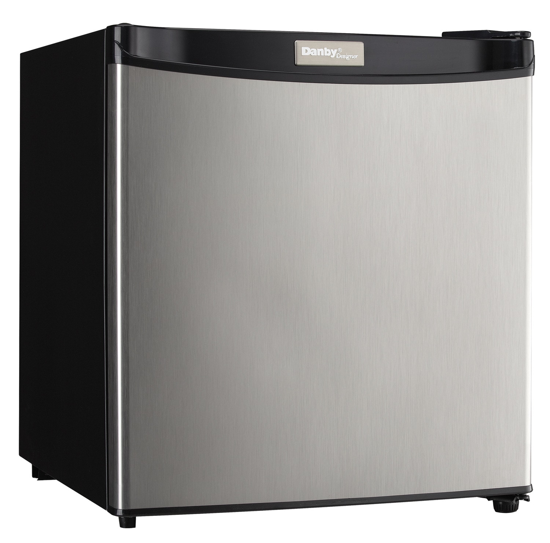 Danby Stainless Steel Compact Refrigerator (1.6 Cu. Ft.) - DCR016A3BSLDD