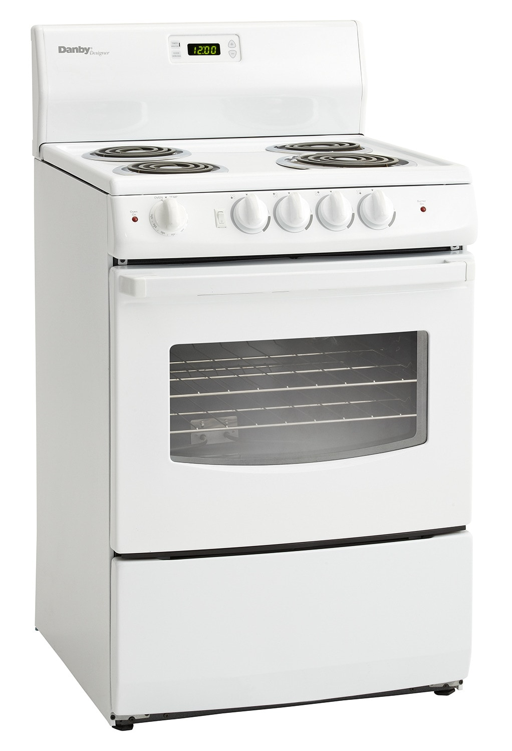 Cooking Products - Danby White Freestanding Electric Range (3 Cu. Ft.) - DER241WC