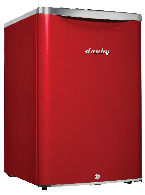 Danby Red Compact Refrigerator (2.6 Cu. Ft.) - DAR026A2LDB