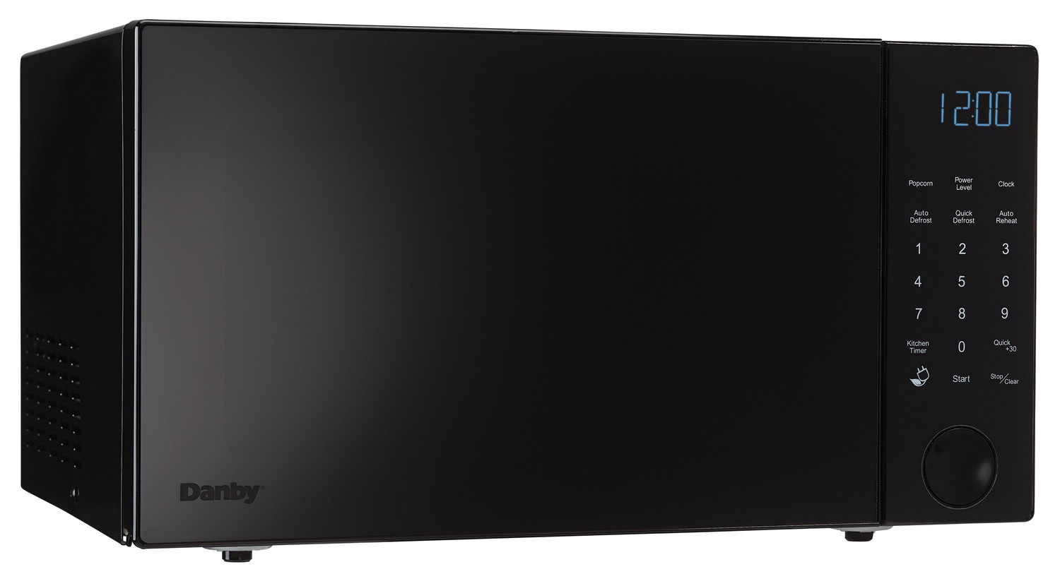 Cooking Products - Danby Black Countertop Microwave (1.1 Cu. Ft.) - DMW11A4BDB