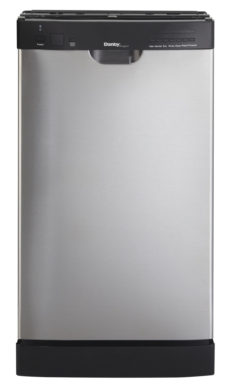 "Clean-Up - Danby Stainless Steel 18"" Dishwasher - DDW1802EBLS"
