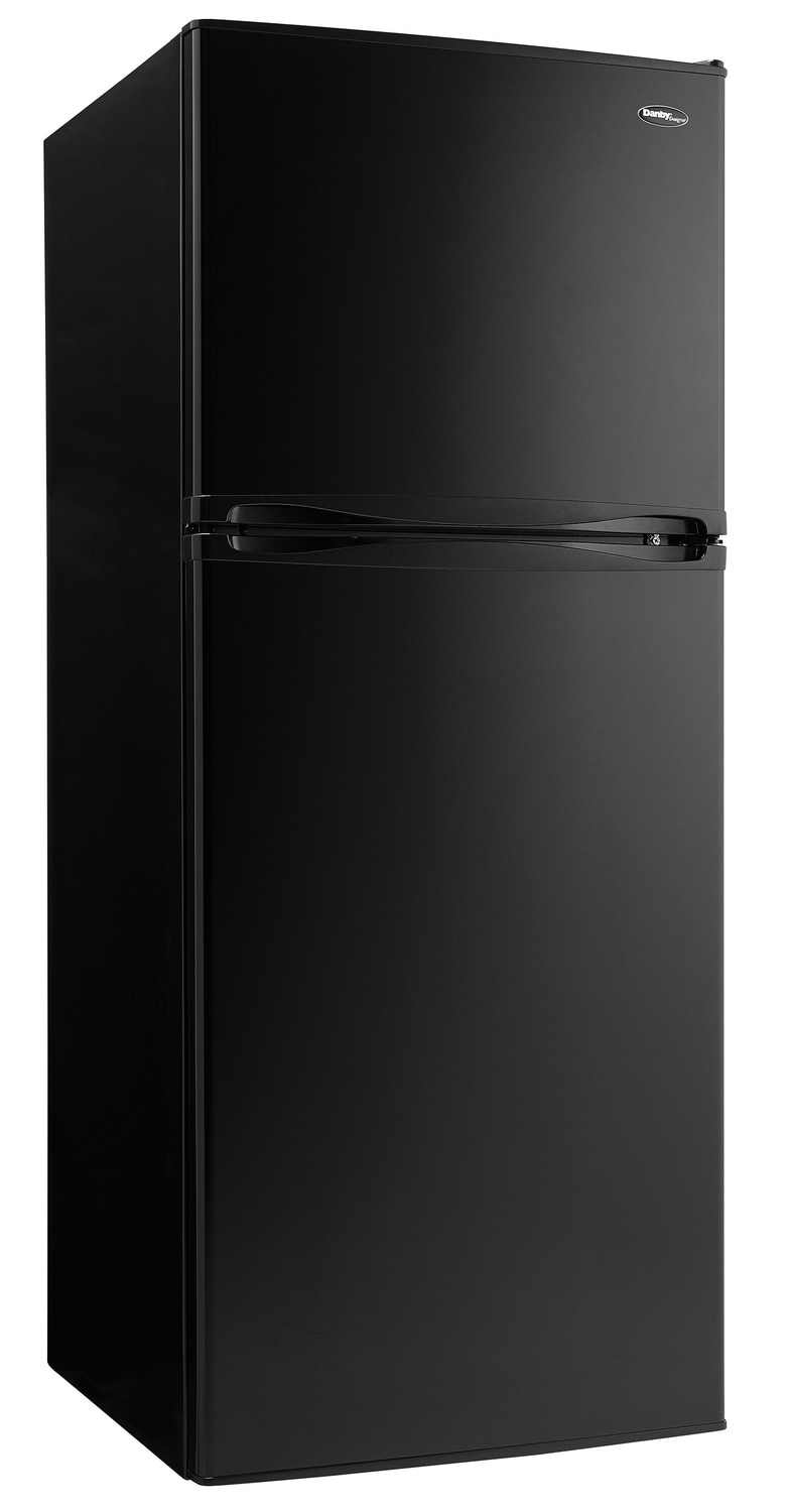Danby Black Top-Freezer Refrigerator (10 Cu. Ft.) - DFF100C1BDD