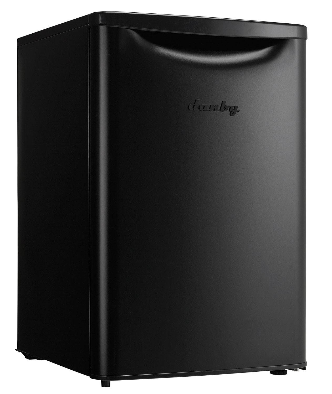 Refrigerators and Freezers - Danby Black Compact Refrigerator (2.6 Cu. Ft.) - DAR026A2BDB