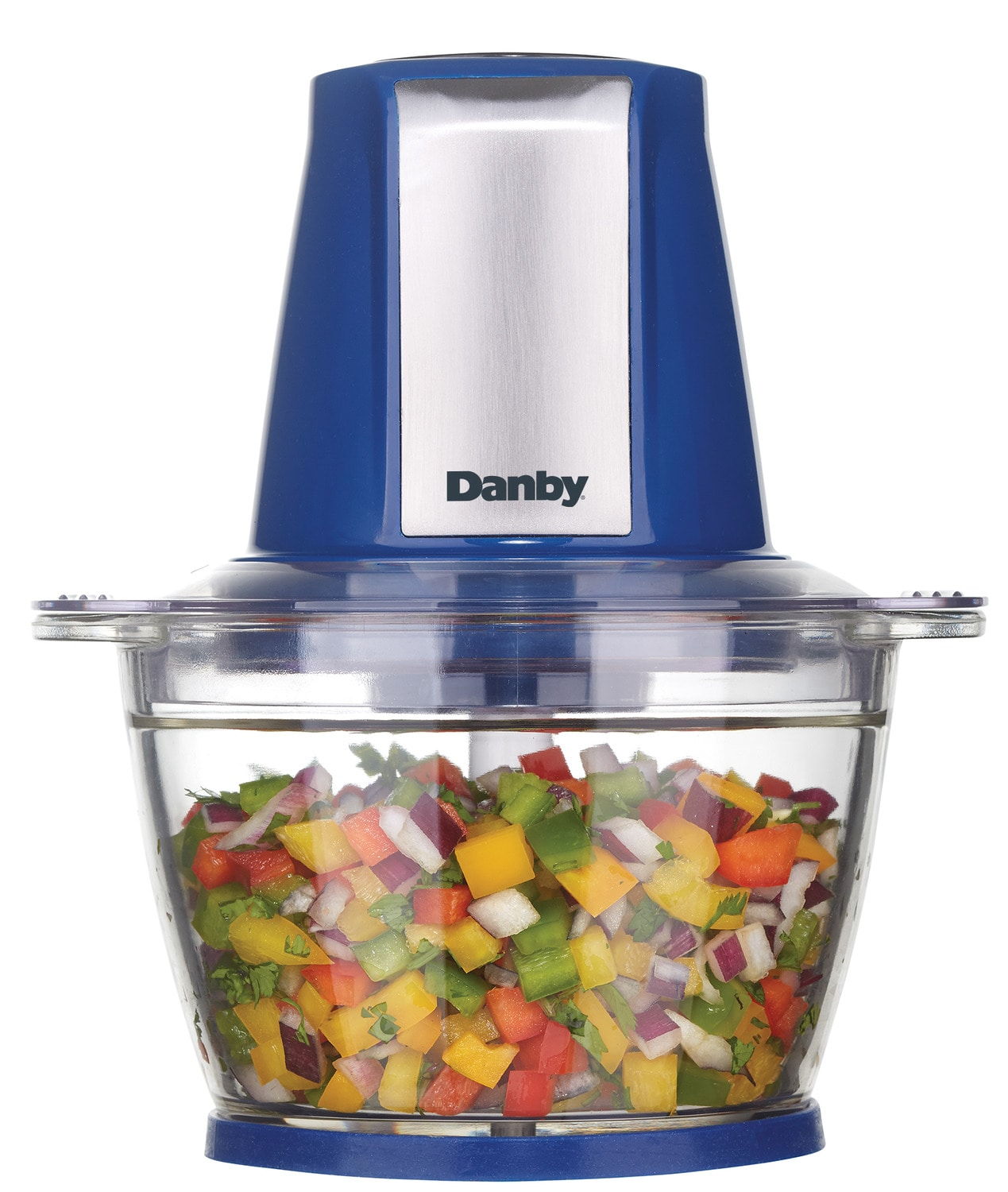 Cooking Products - Danby Blue Food Chopper (500 mL) - DFC40C1SSDB