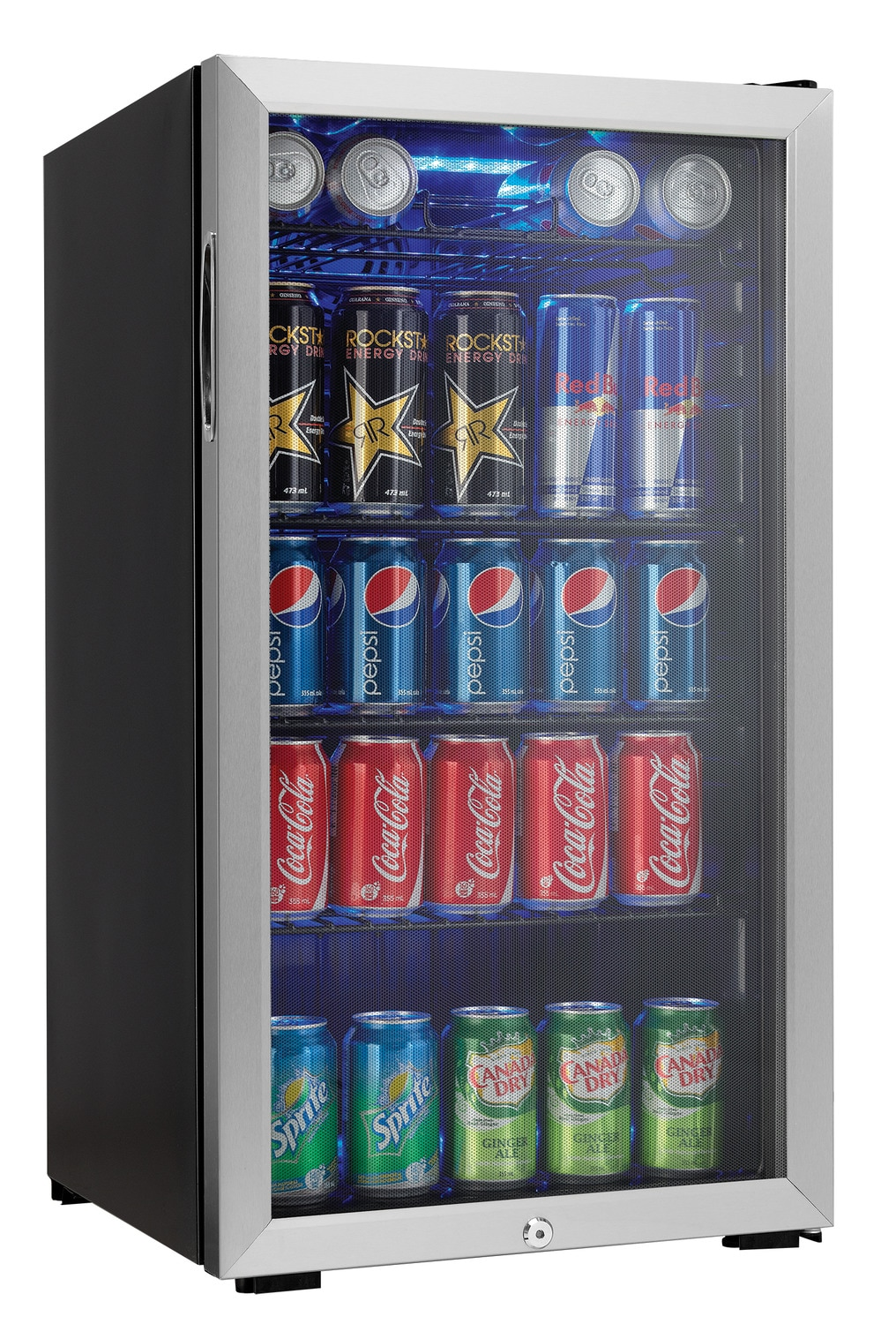 Refrigerators and Freezers - Danby Stainless Steel Beverage Centre (3.3 Cu. Ft.) - DBC120CBLS