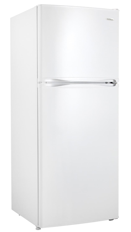 Danby White Top-Freezer Refrigerator (10 Cu. Ft.) - DFF100C2WDD