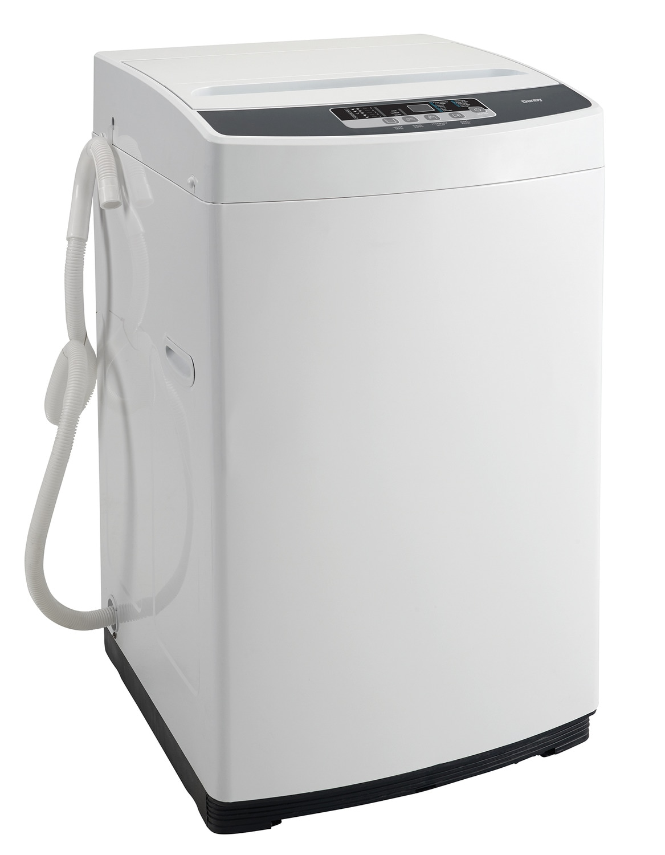 Washers and Dryers - Danby White Portable Washing Machine (1.29 Cu. Ft.) - DWM045WDB