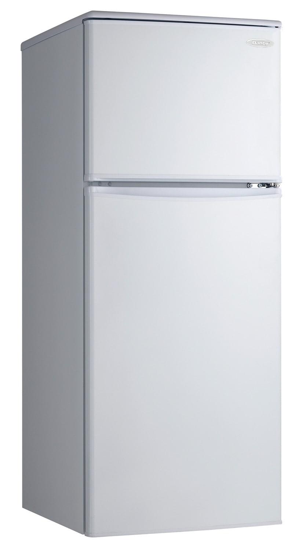 Refrigerators and Freezers - Danby White Top-Freezer Refrigerator (9.1 Cu. Ft.) - DFF091A1WDB