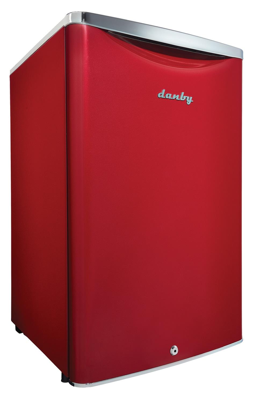Danby Red Compact Refrigerator (4.4 Cu. Ft.) - DAR044A6LDB