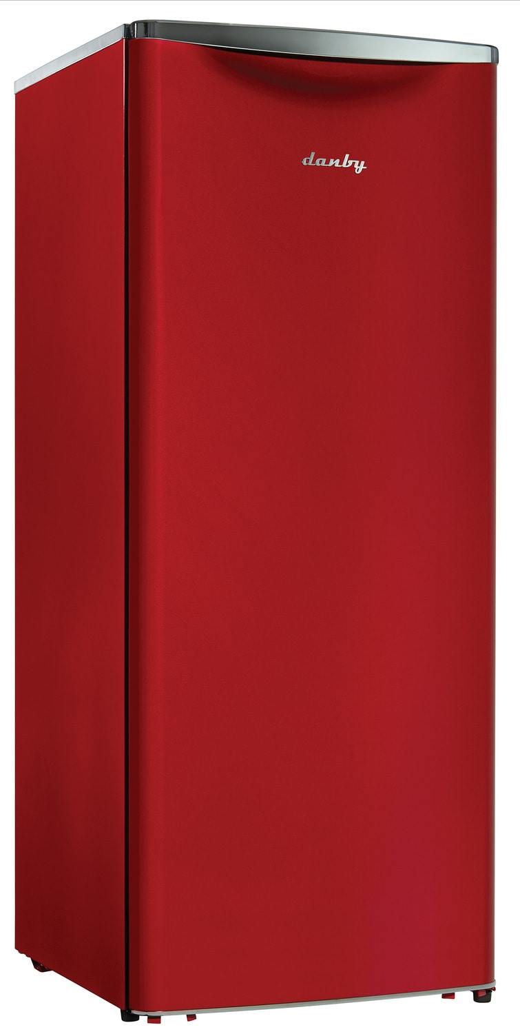 Refrigerators and Freezers - Danby Red All-Refrigerator (11 Cu. Ft.) - DAR110A2LDB