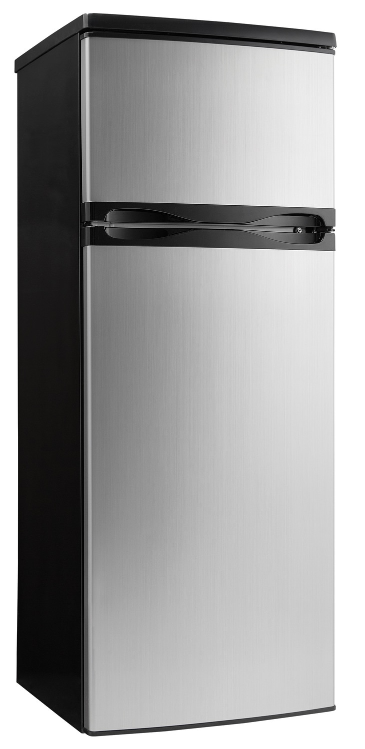Danby Stainless Steel Top-Freezer Refrigerator (7.3 Cu. Ft.) - DPF073C1BSLDD