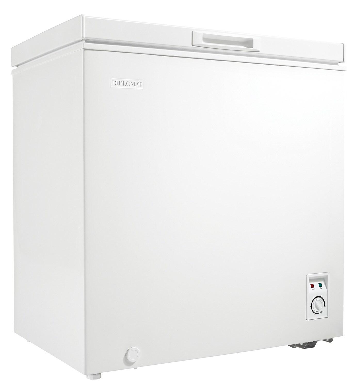 Refrigerators and Freezers - Danby White Chest Freezer (5 Cu. Ft.) - DCFM050C1WM