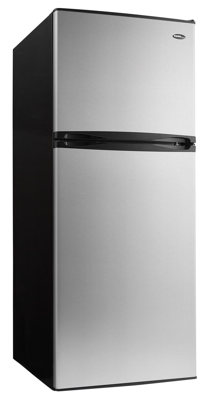 Refrigerators and Freezers - Danby Stainless Steel Top-Freezer Refrigerator (12.3 Cu. Ft.) - DFF123C2BSSDD