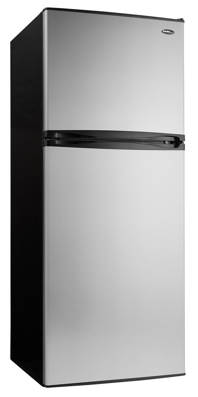 Danby Stainless Steel Top-Freezer Refrigerator (10 Cu. Ft.) - DFF100C1BSSDD