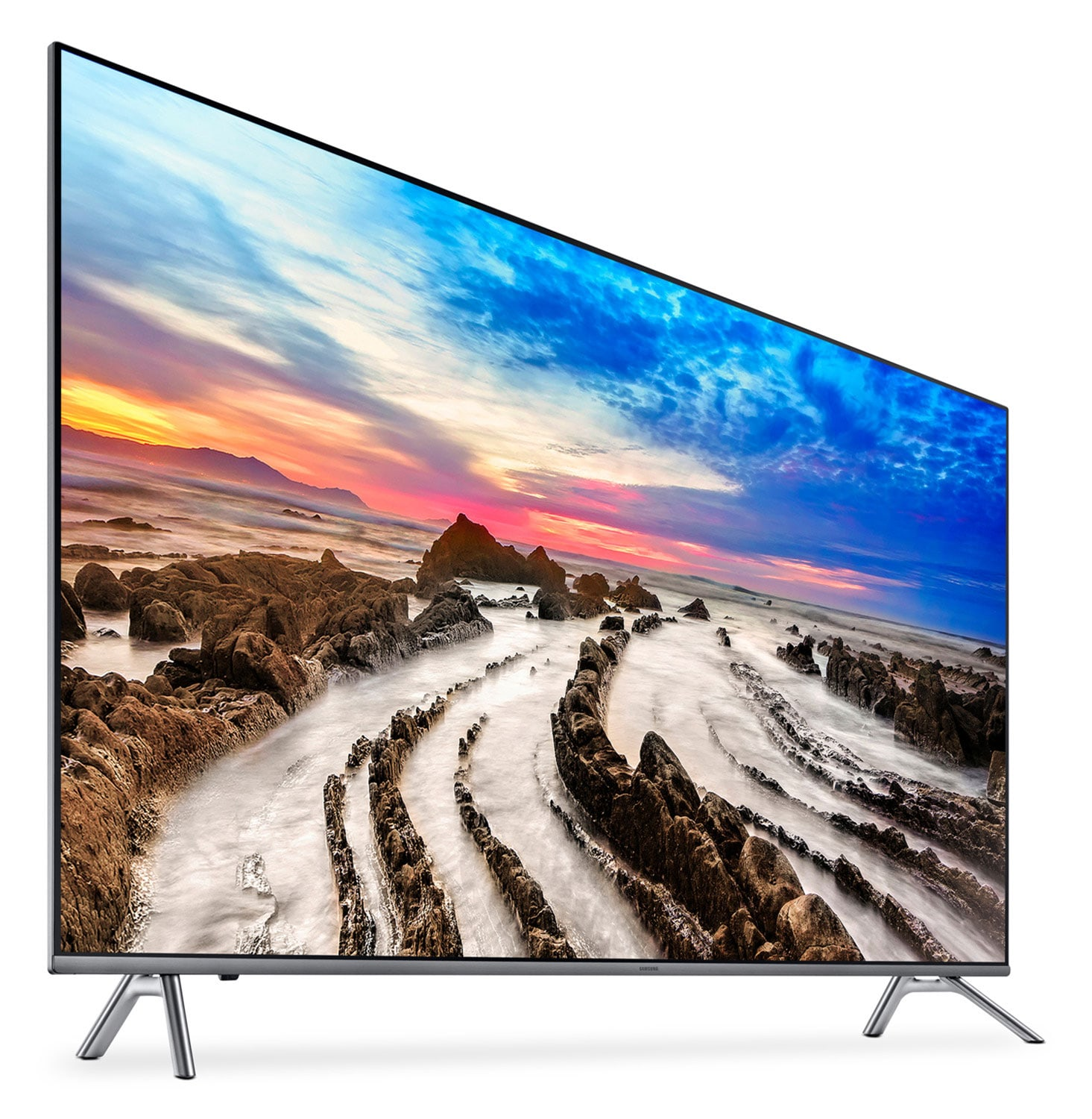 samsung 55 mu8000 series 8 uhd 4k smart television the brick. Black Bedroom Furniture Sets. Home Design Ideas