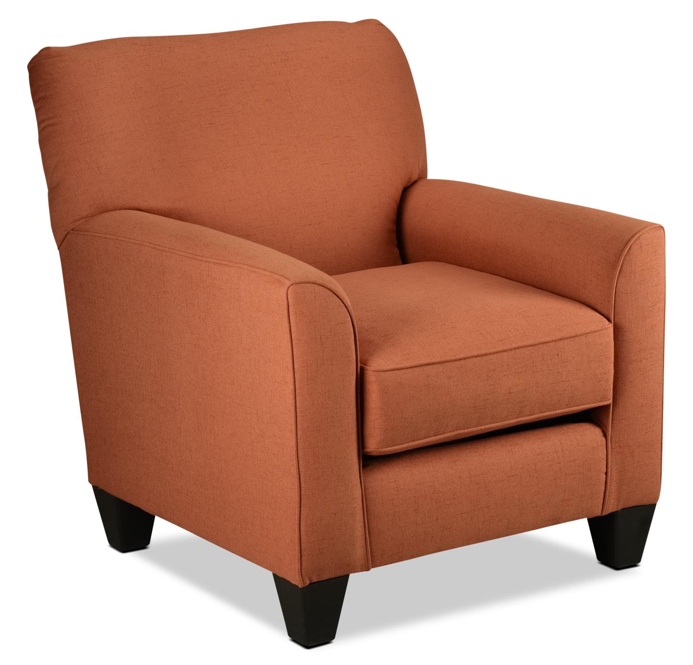 Halifax Accent Chair - Orange
