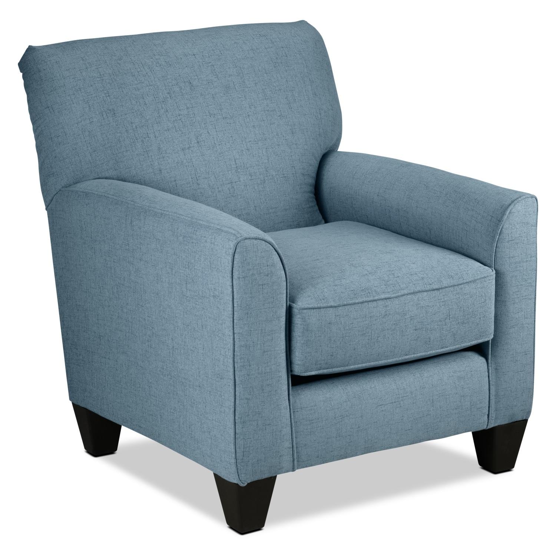Halifax Accent Chair - Blue