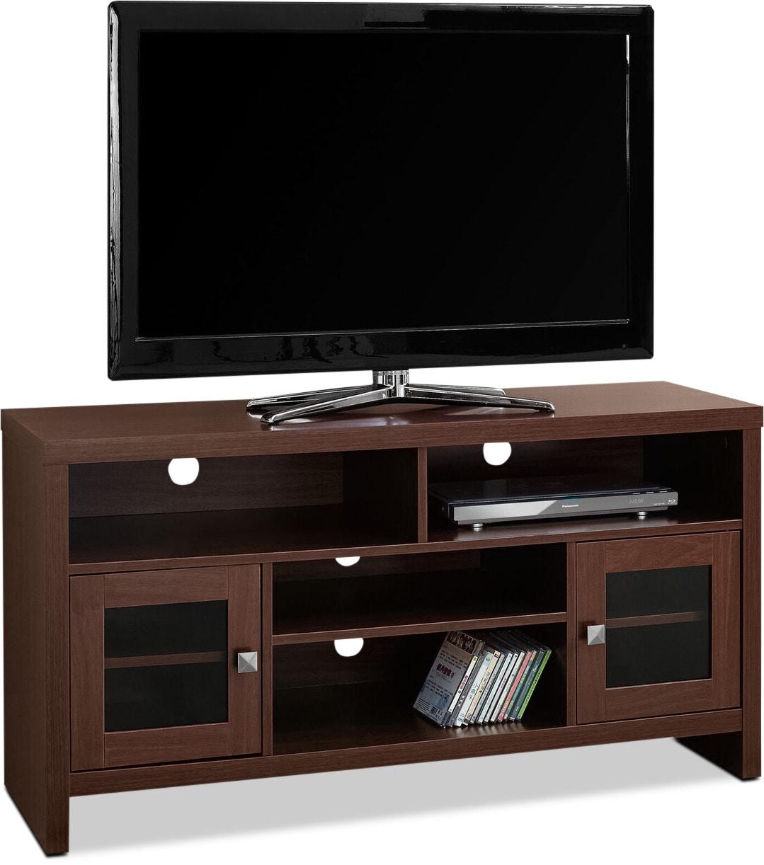 Entertainment Furniture - Gannon TV Stand - Warm Cherry