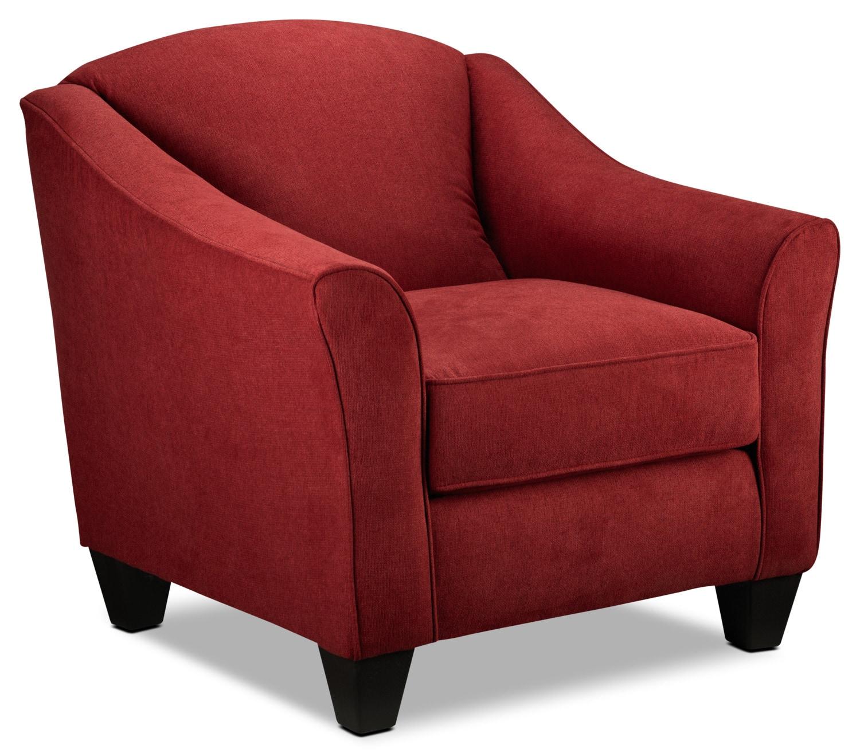 Popstitch Accent Chair - Red