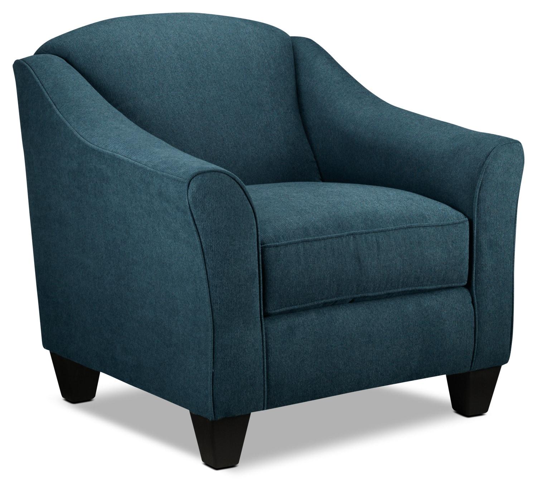 Popstitch Accent Chair - Blue