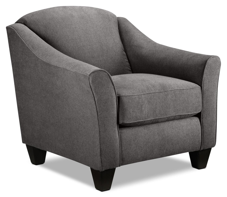 Popstitch Accent Chair - Grey