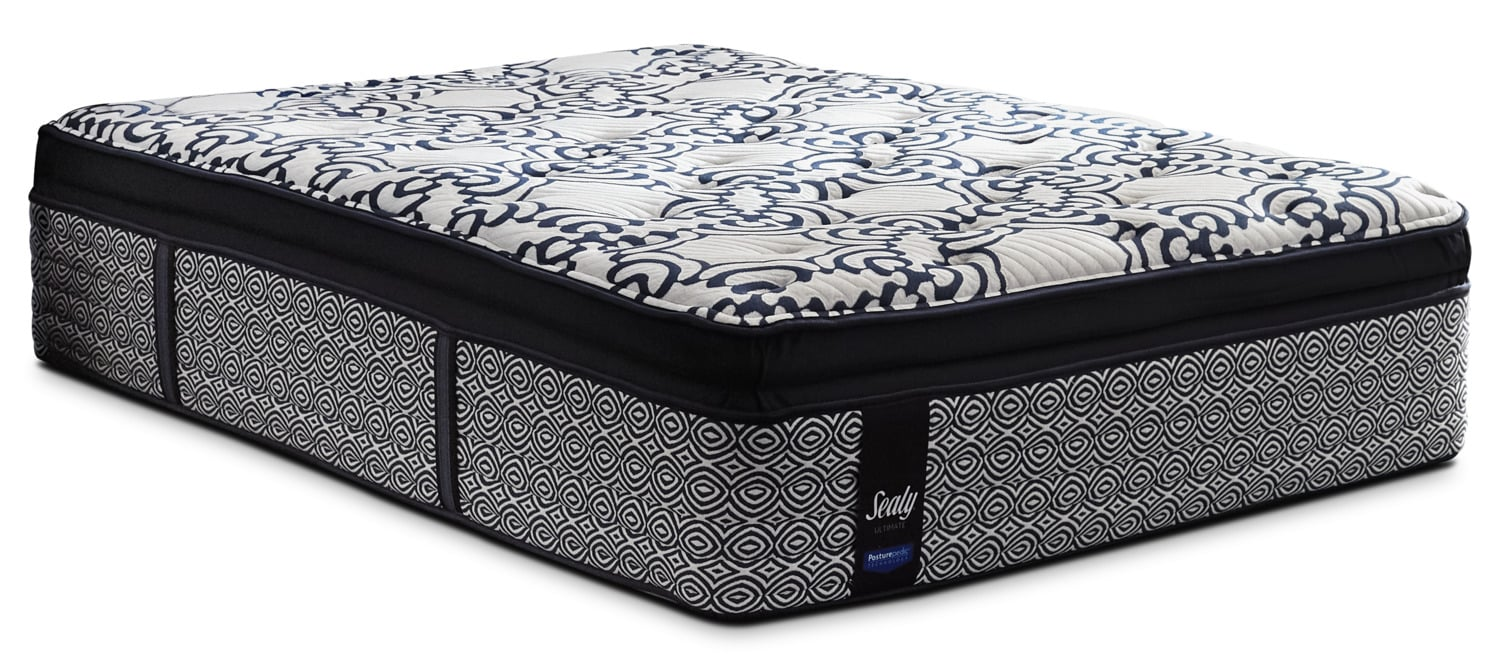 Sealy Posturepedic Ultimate Silverberry Euro Pillow-Top Plush Queen Mattress
