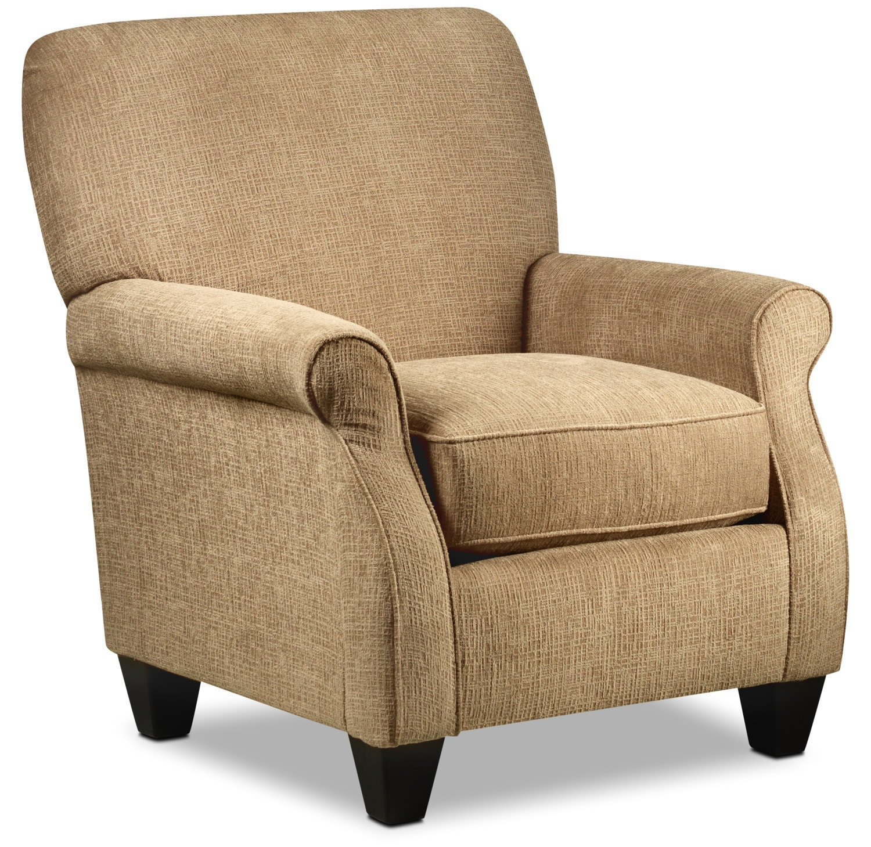 Perth Accent Chair - Oatmeal