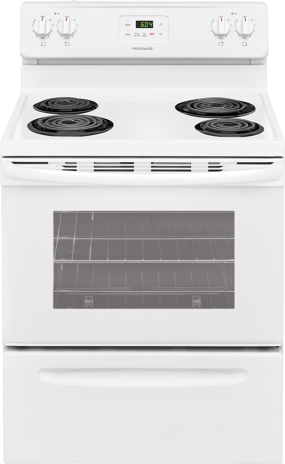 Frigidaire White Freestanding Electric Range (4.9 Cu. Ft.) - CFEF3012TW