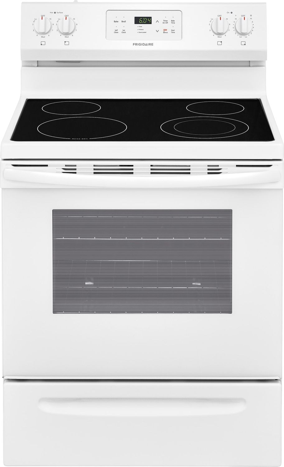 Frigidaire White Freestanding Electric Range (5.3 Cu. Ft.) - CFEF3055TW