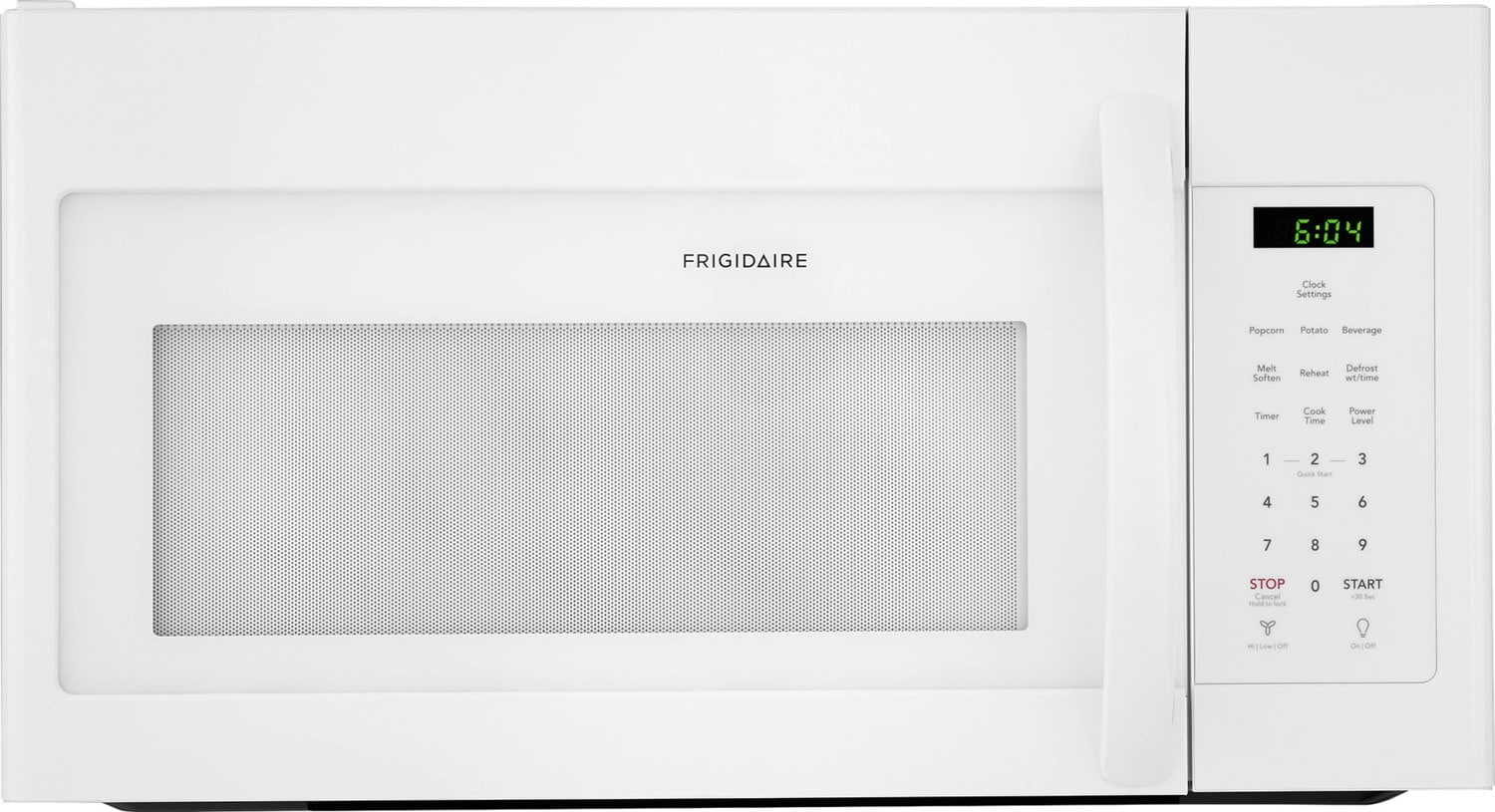 Frigidaire White Over-the-Range Microwave (1.6 Cu. Ft.) - CFMV1645TW