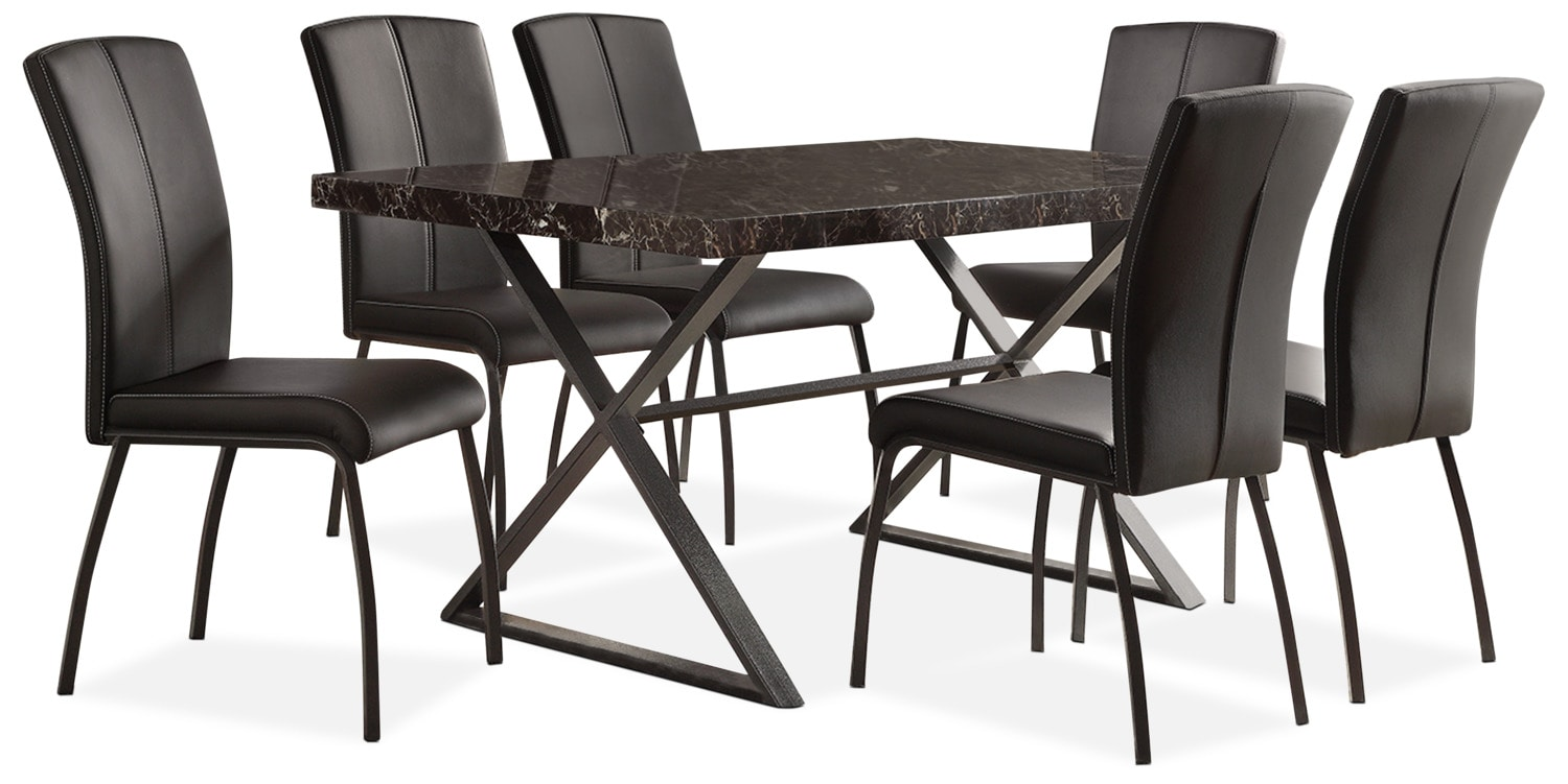 Calla 7-Piece Dining Package