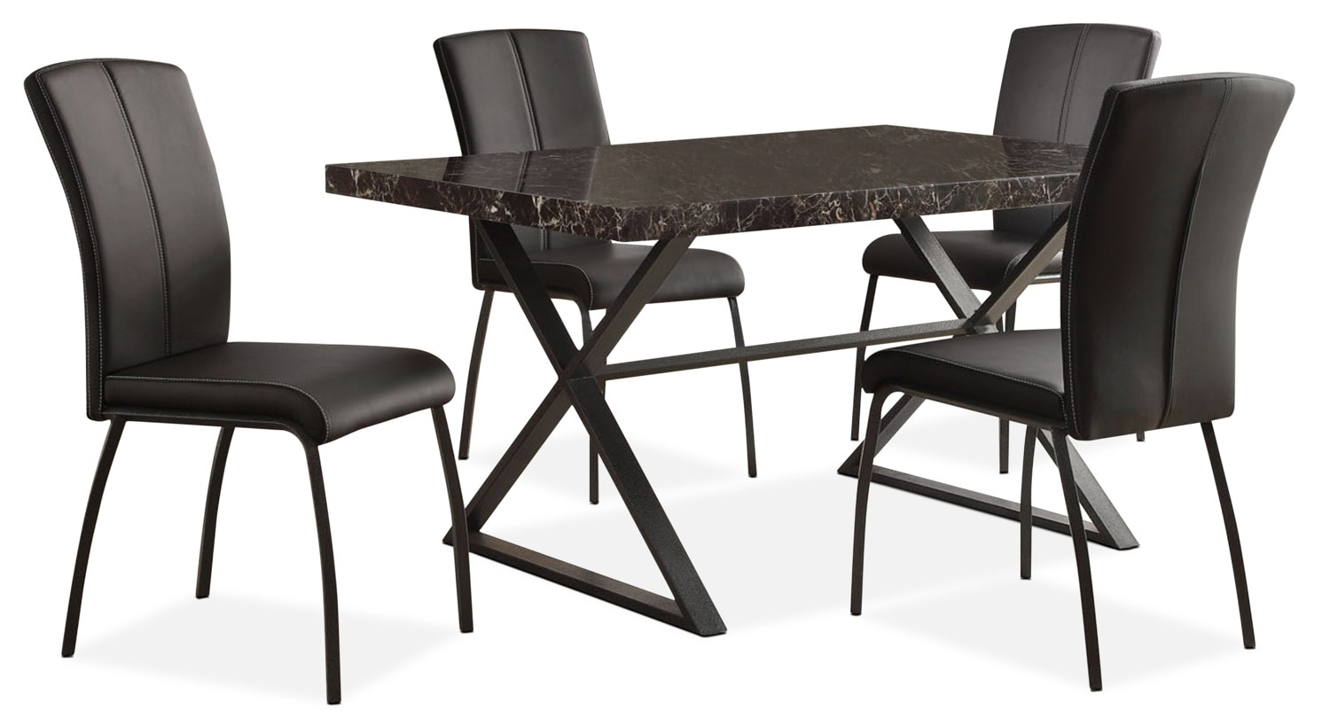Dining Room Furniture - Calla 5-Piece Dining Package