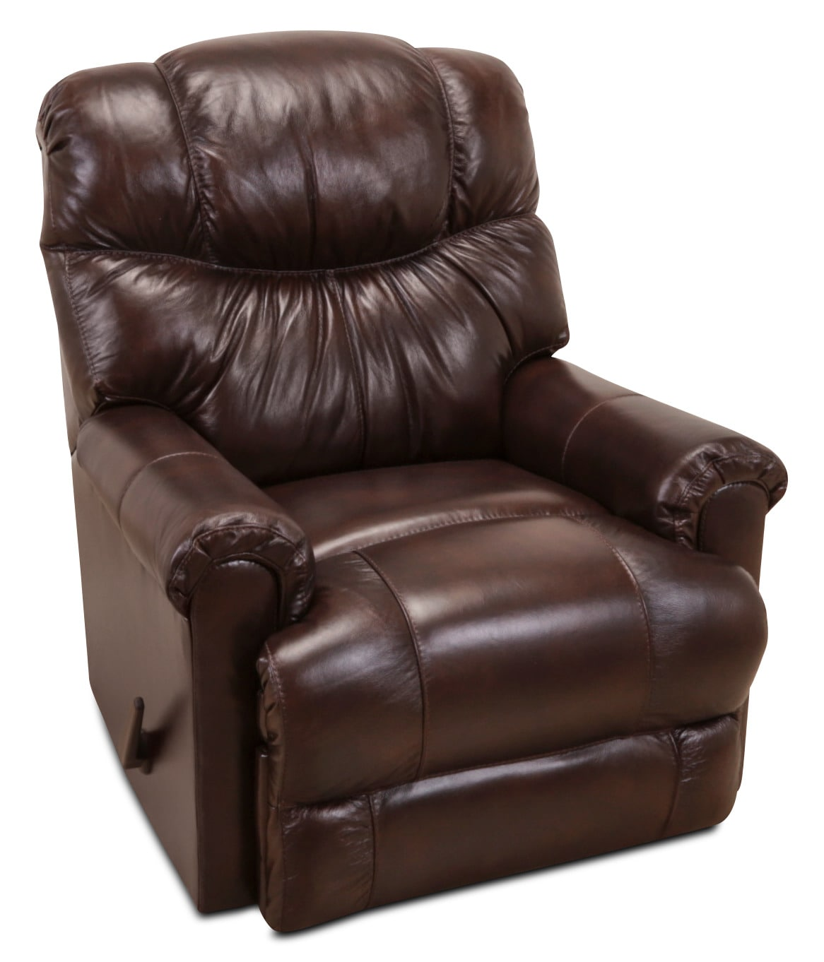4524 Genuine Leather Rocker Reclining Chair – Java