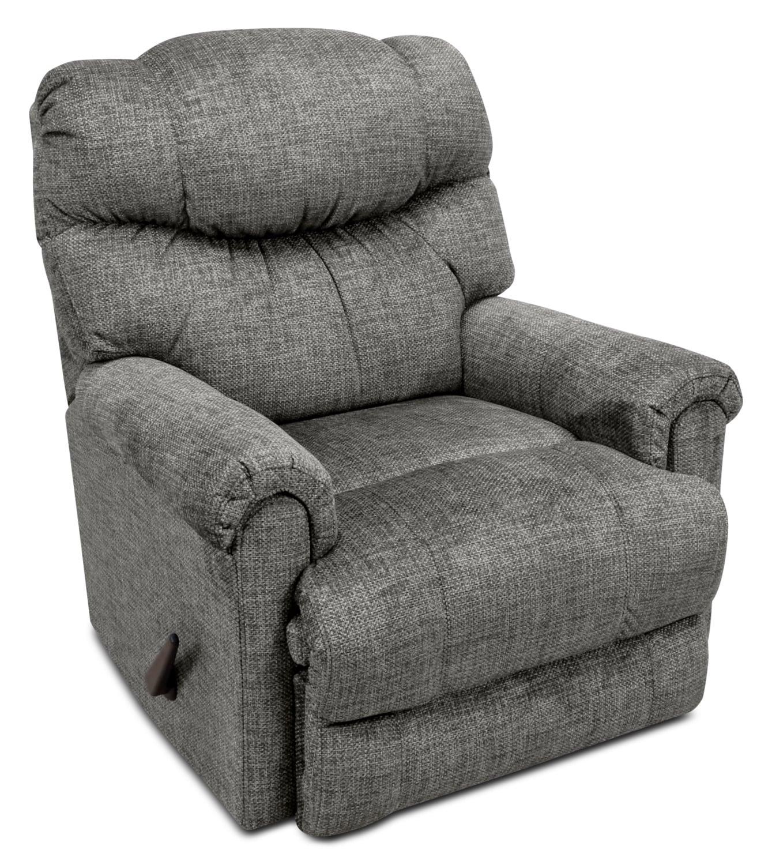 4524 Chenille Rocker Reclining Chair – Grey