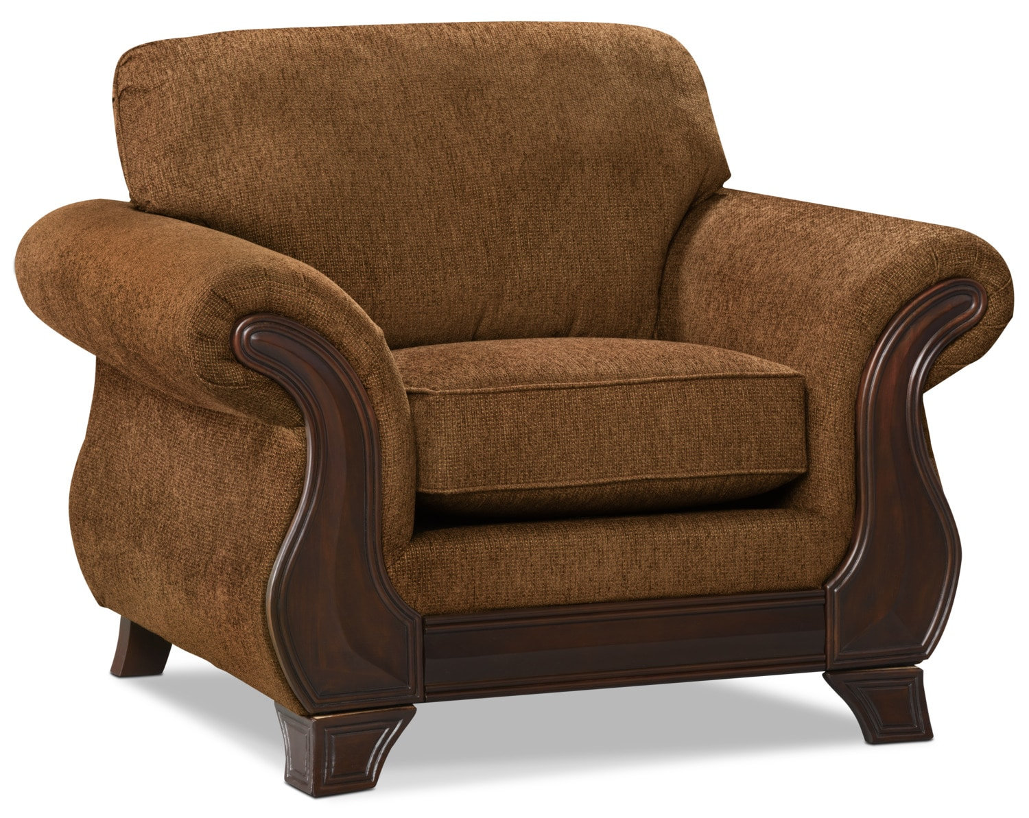 Living Room Furniture - Ivan Chenille Chair