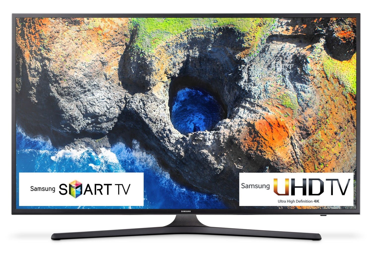 "Samsung 55"" 4K UHD Smart LED TV - UN55MU6300FXZC"