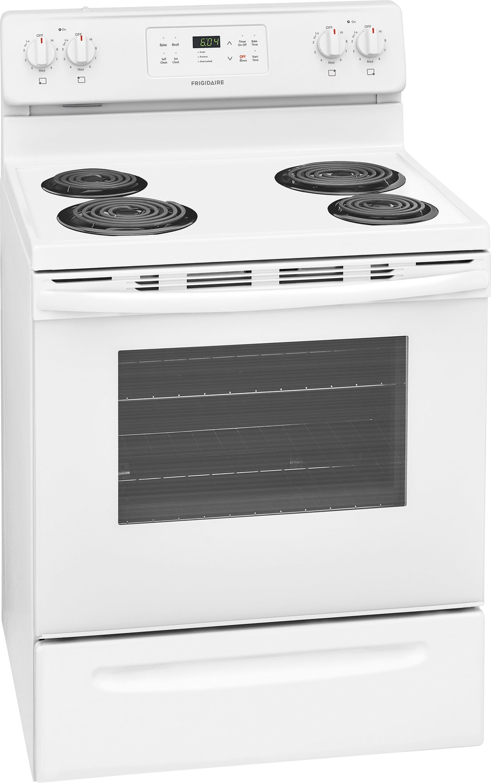 frigidaire cuisini re lectrique 5 3 pi blanc cfef3016tw. Black Bedroom Furniture Sets. Home Design Ideas