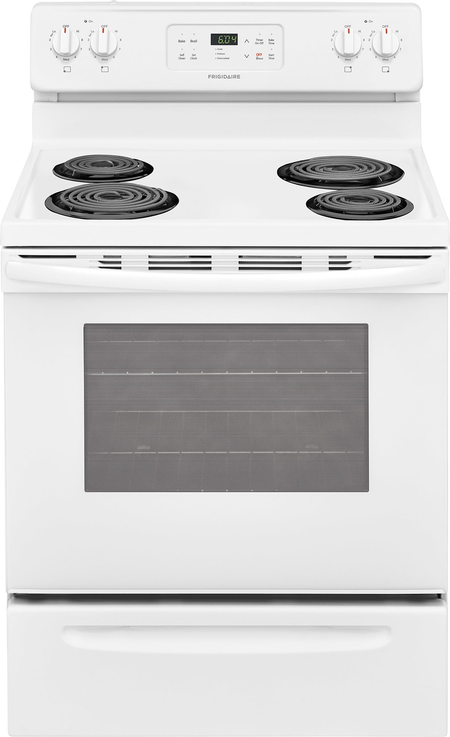 Frigidaire White Freestanding Electric Range (5.3 Cu. Ft.) - CFEF3016TW