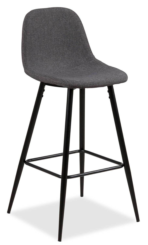 chaise wilma de hauteur bar grise brick. Black Bedroom Furniture Sets. Home Design Ideas