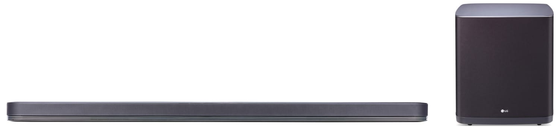 LG SJ9 Soundbar and Wireless Subwoofer