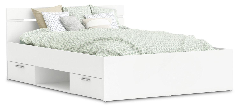 Michigan Full Storage Platform Bed
