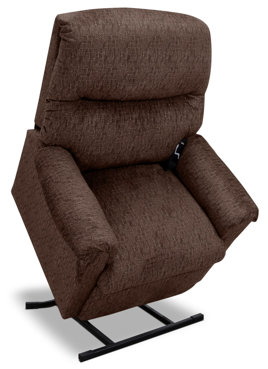 481 Textured Chenille 3-Position Power Lift Chair – Sepia