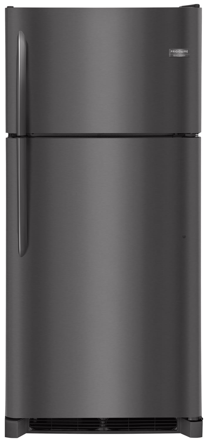 Frigidaire Gallery Black Stainless Steel Top-Freezer Refrigerator (18 Cu. Ft.) - FGTR1842TD