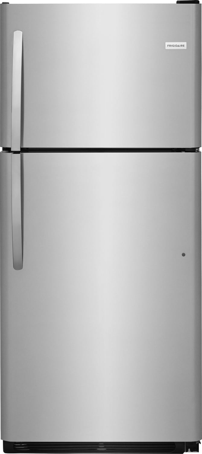 Frigidaire Stainless Steel Top-Freezer Refrigerator (20 Cu. Ft.) - FFTR2021TS