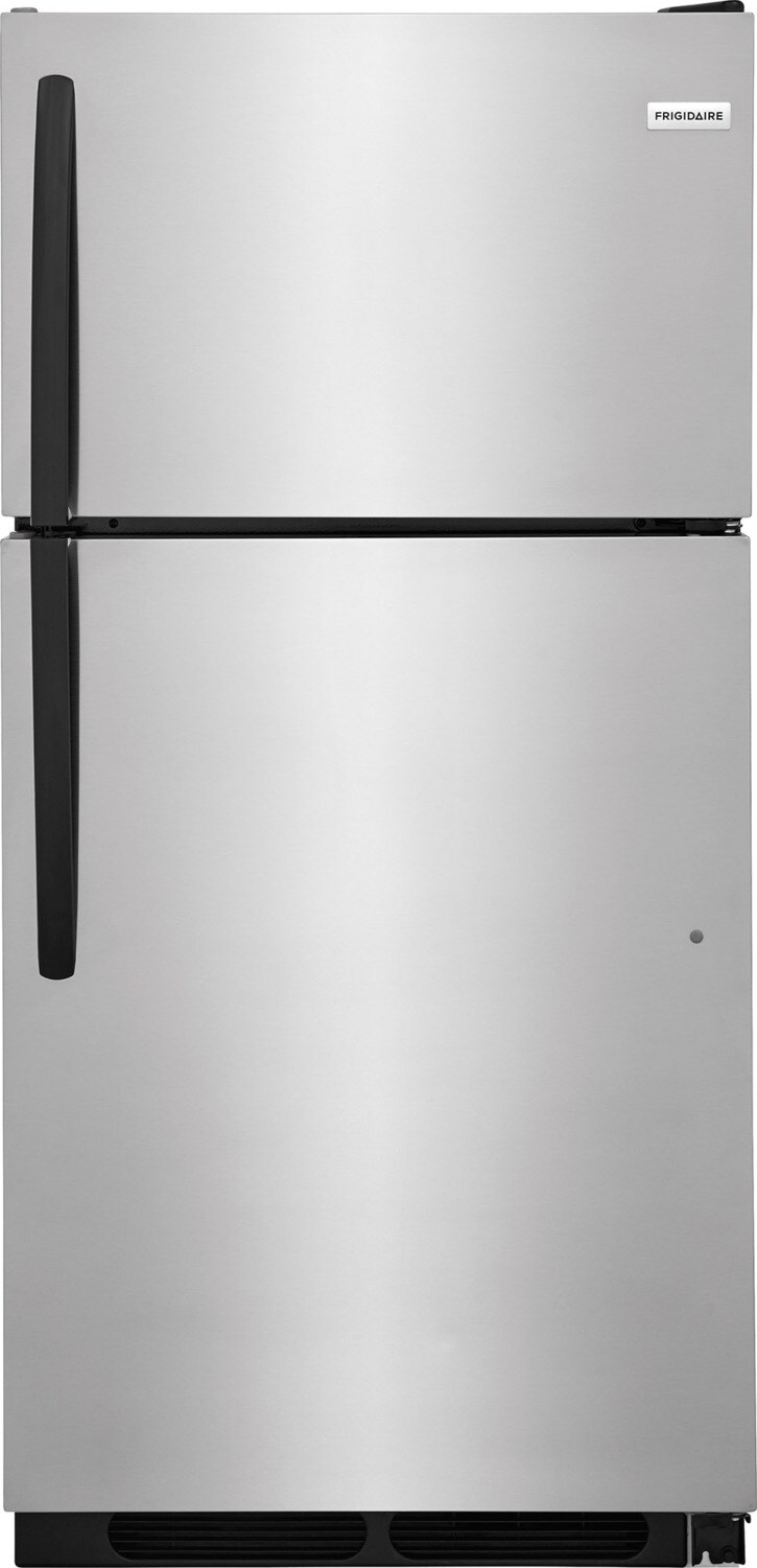Frigidaire Stainless Steel Top-Freezer Refrigerator (15 Cu. Ft.) - FFHT1514TS