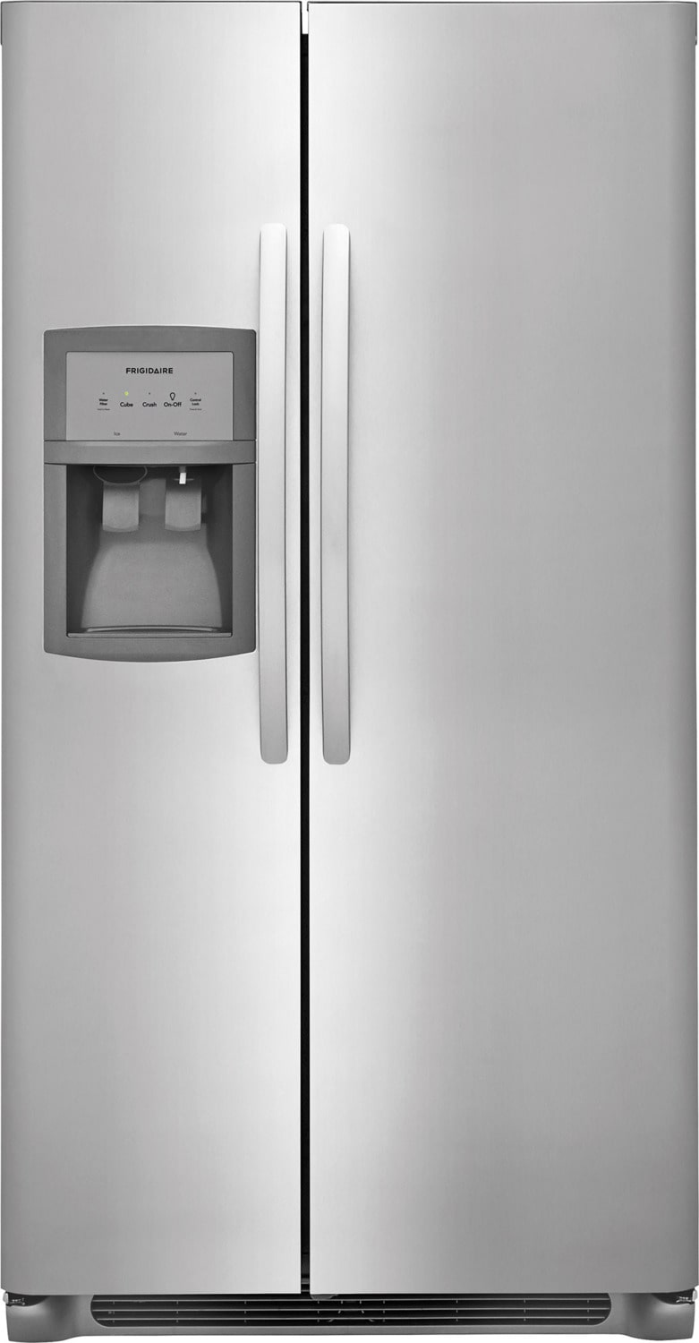 Frigidaire Stainless Steel Side-by-Side Refrigerator (25.6 Cu. Ft.) - FFSS2625TS
