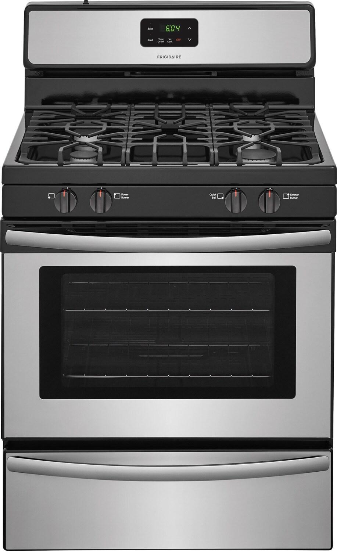 frigidaire cuisini re au gaz 4 2 pi inox ffgf3051ts. Black Bedroom Furniture Sets. Home Design Ideas