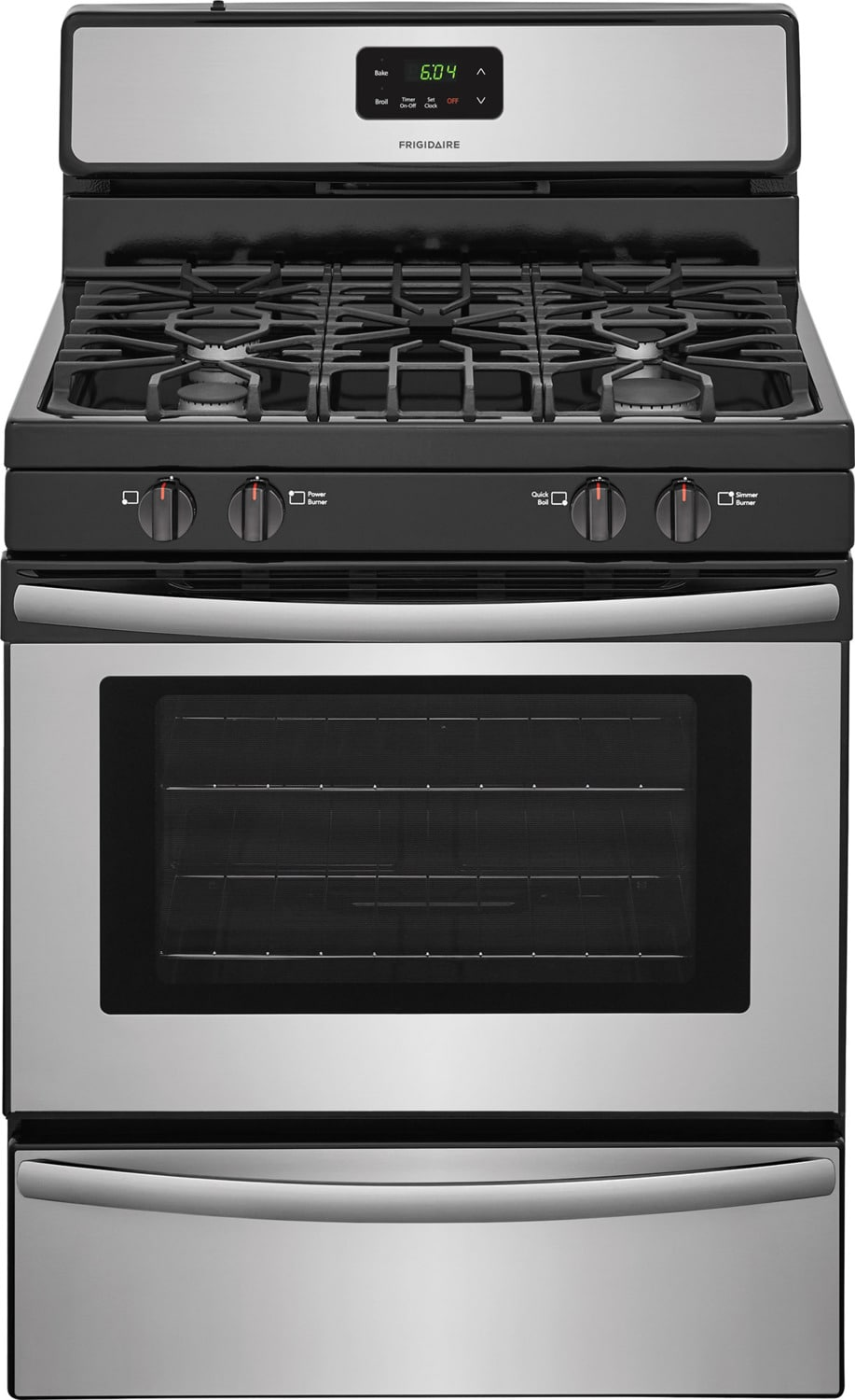 Frigidaire Stainless Steel Freestanding Gas Range (4.2 Cu. Ft.) - FFGF3051TS