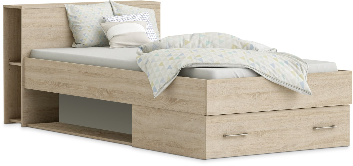 Pomme Twin Storage Bed